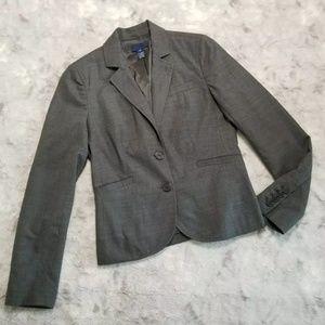 J. Crew Wool Blazer Gray 0